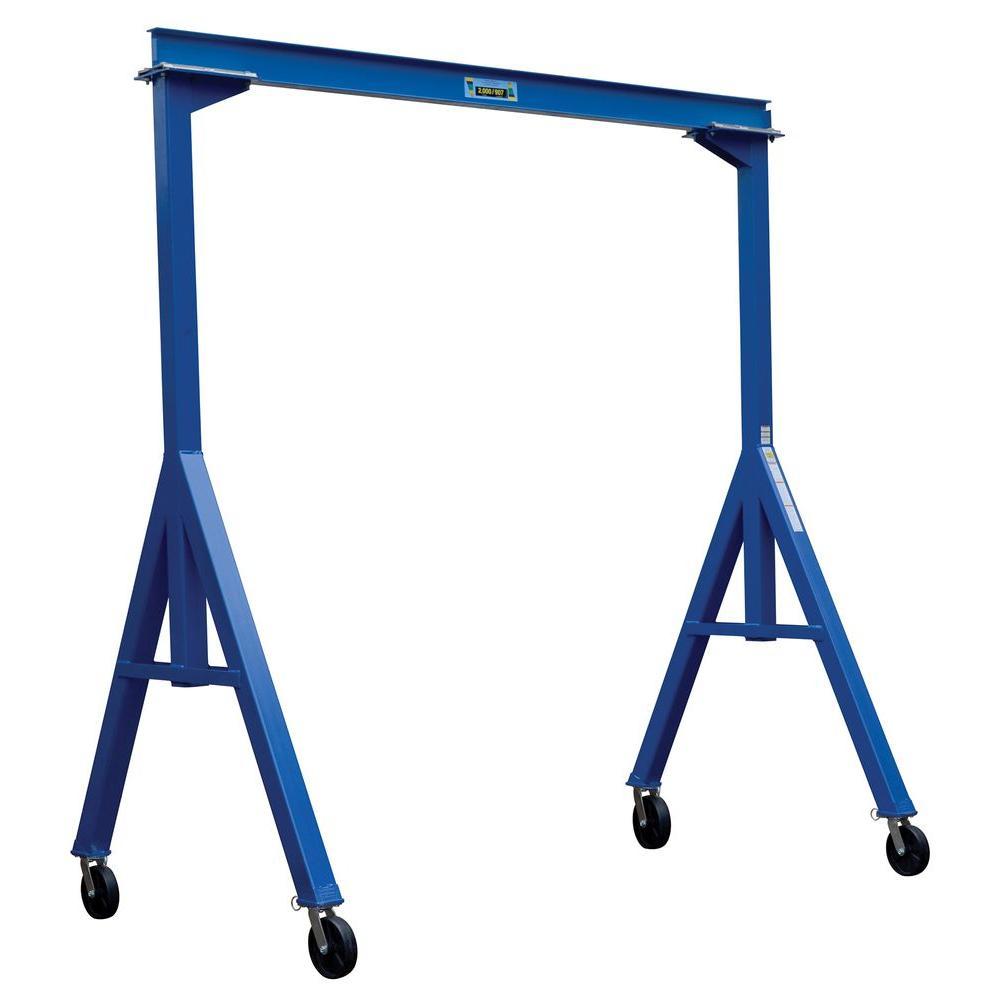 Vestil 2,000 lb. 20 ft. Long Fixed Steel Gantry Crane by Vestil