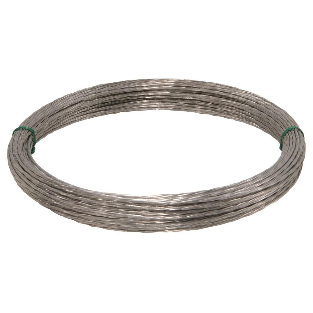 The Hillman Group 100 ft. 20-Gauge Multi-Purpose Wire-122063 - The ...