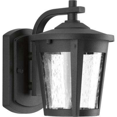 East Haven Collection 1-Light Outdoor Black LED Wall Lantern
