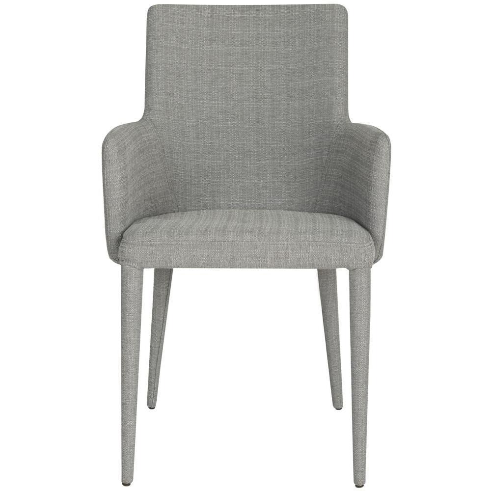 Summerset Grey Linen Arm Chair