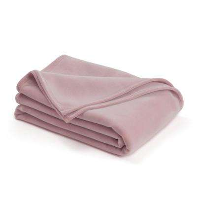 Original Plum Rose Nylon King Blanket