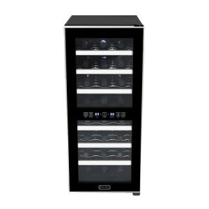 Click here to buy Whynter 24-Bottle Dual Zone Touch Control Stainless Trim Wine Cooler by Whynter.