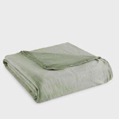 Queen Willow Polyester Ultra Soft Plush Blanket