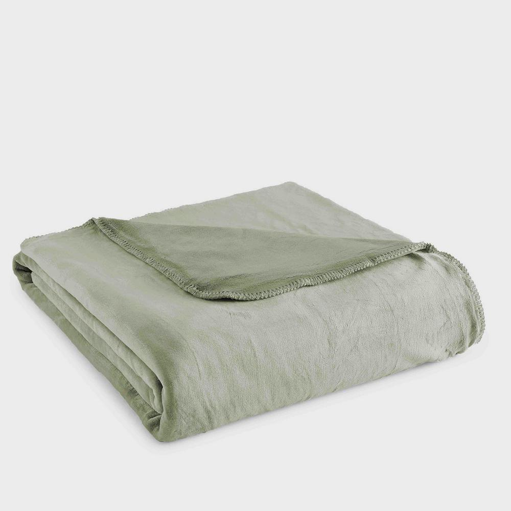 King Plush Willow Polyester Ultra Soft Blanket