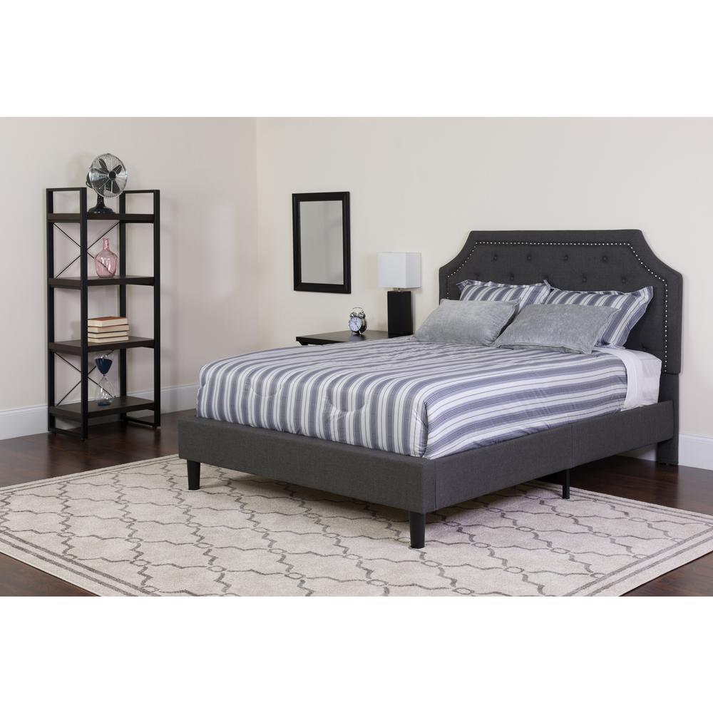 Beige Twin Bed Set