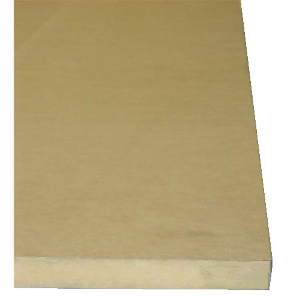 null 1/2 in. x 4 ft. x 4 ft. Medium Density Fiberboard Panel