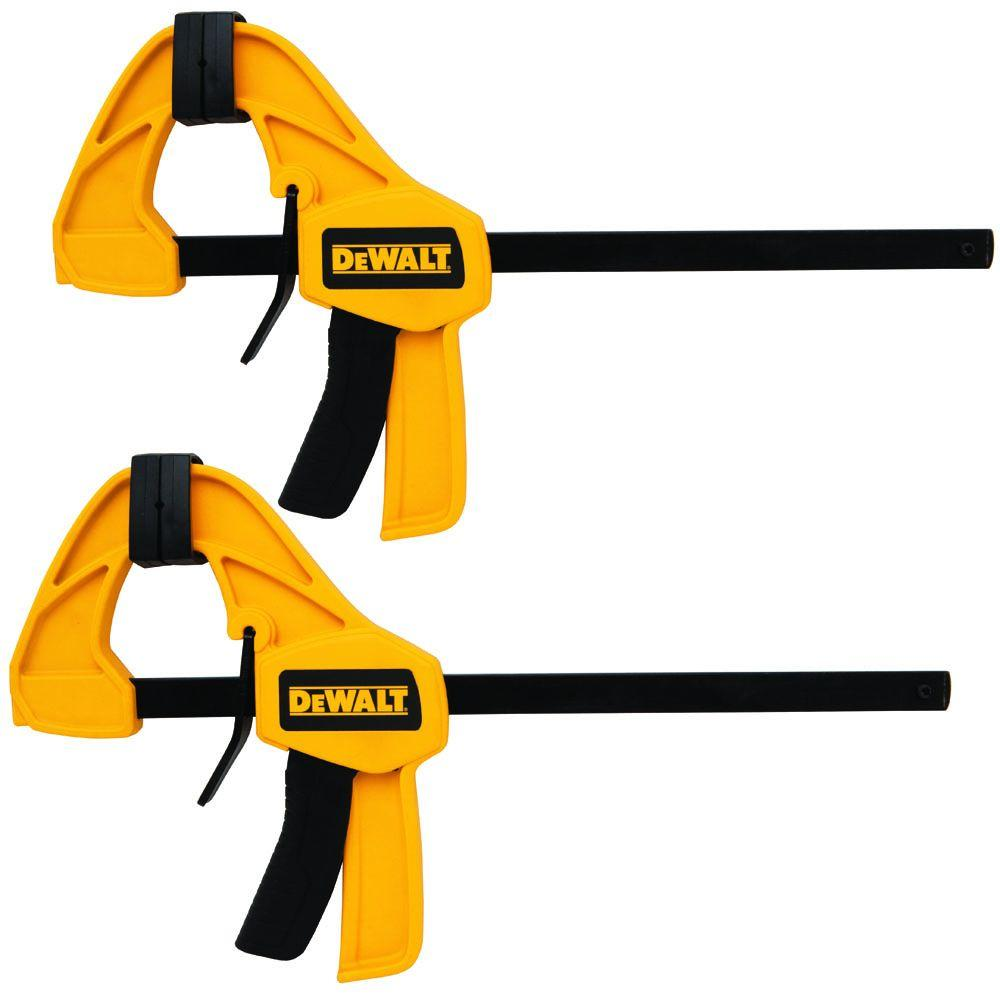 DEWALT 12 in. Medium Trigger Bar Clamp (2-Pack)