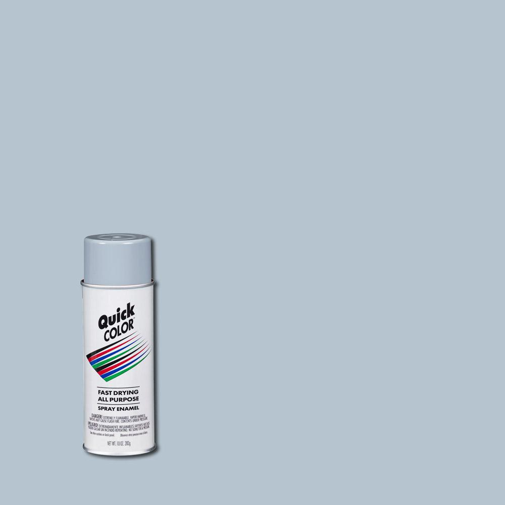 Quick Color 10 Oz Gloss Silver General Purpose Spray