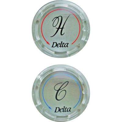 Clear Handle Button Set
