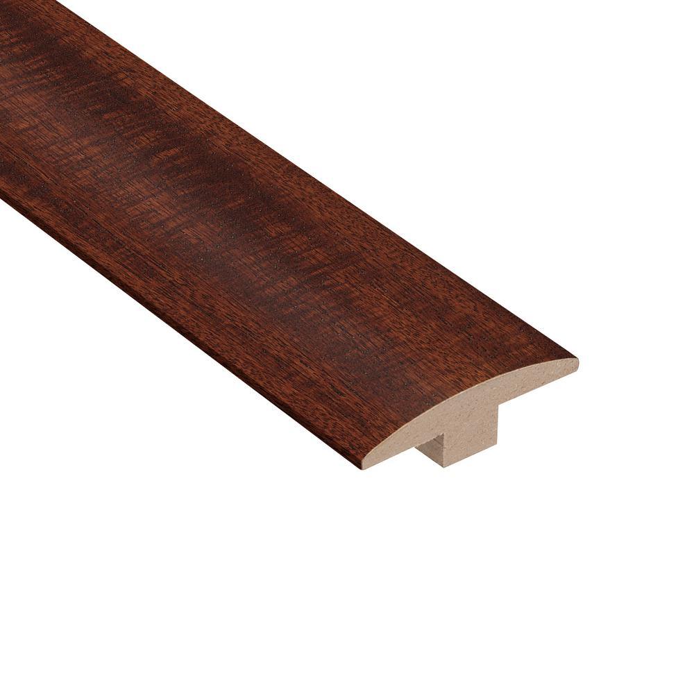Matte Brazilian Oak 3/8 in. Thick x 2 in. Wide x 78 in. Length Hardwood T-Molding
