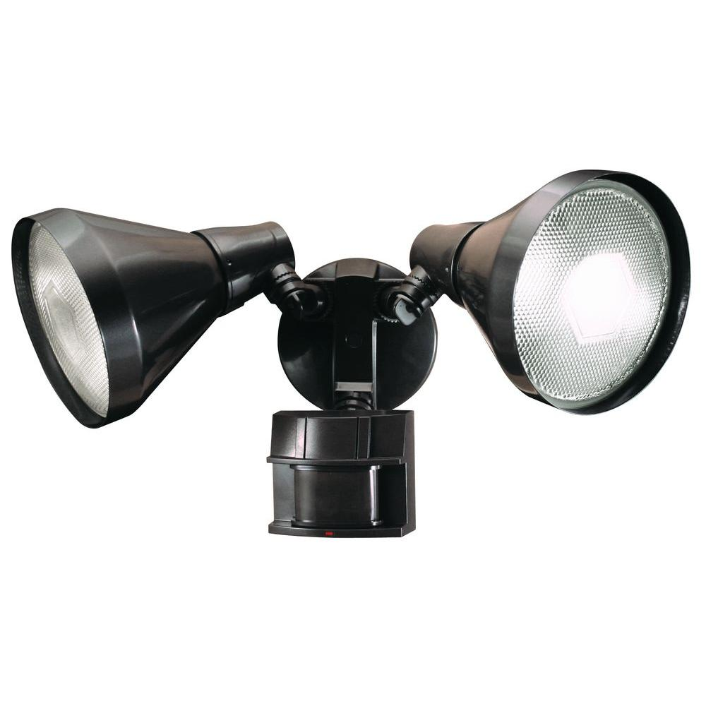 Bronze Motion Sensing Security Light