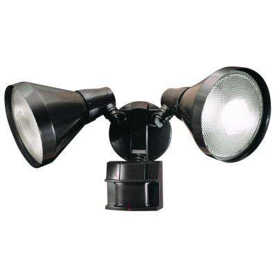 180-Degree Bronze Motion Sensing Security Light with Bulb Shields