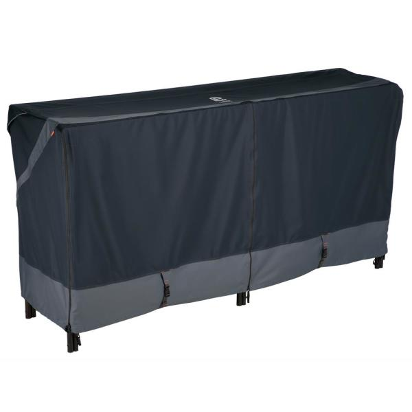 StormPro RainProof Heavy-Duty 98 in. L x 26 in. W x 44 in. H Log Rack Cover