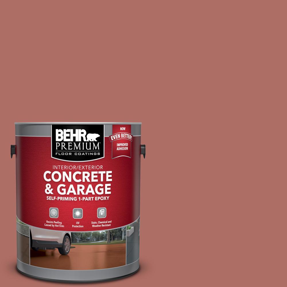 1 gal. #PPF-20 New Enand Brick Self-Priming 1-Part Epoxy Satin Interior/Exterior Concrete and Garage Floor Paint