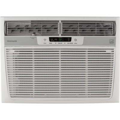 15,100 BTU 115-Volt Window-Mounted Median Air Conditioner with Temperature Sensing Remote Control