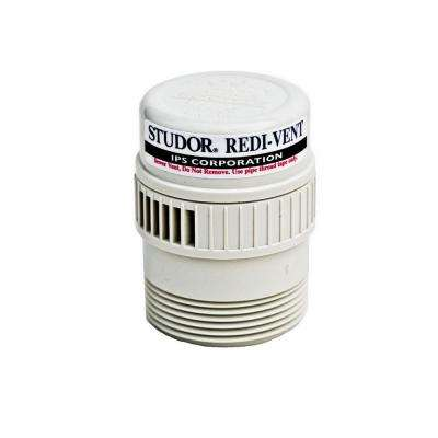 Redi-Vent 1-1/2 in. - 2 in. PVC Air Admittance Valve Adapter (Case of 24)
