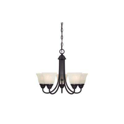 Kendall 5-Light Oil Rubbed Bronze Chandelier