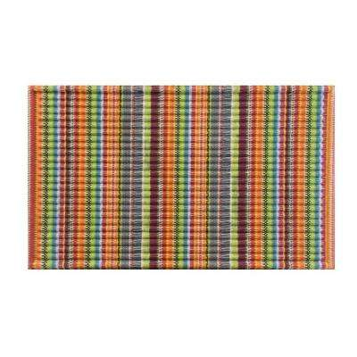 Stripe 18 in. x 30 in. Door Mat