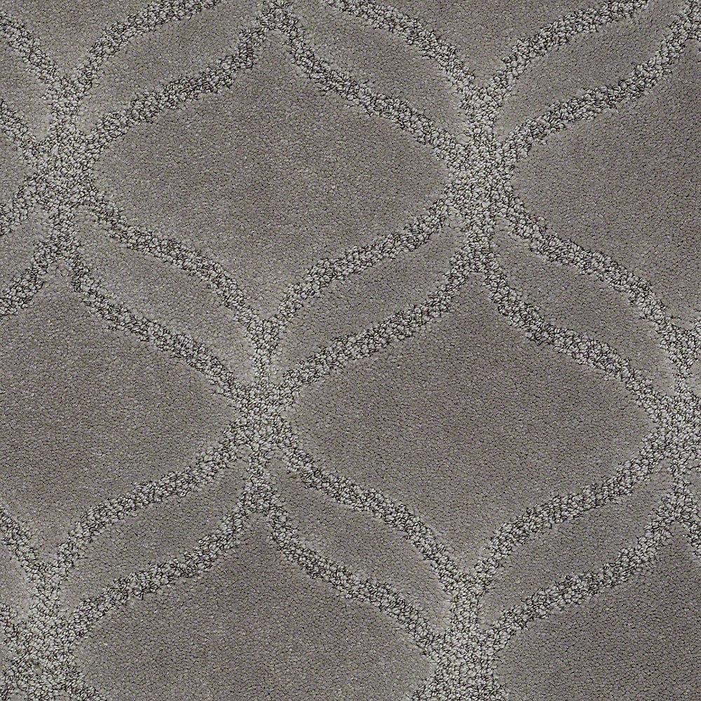 platinum plus carpet sample kensington in color rhinoceros 8 in x 8 insh368976 the home depot