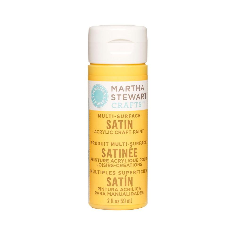 Martha Stewart Crafts 2-oz. Pollen Multi-Surface Satin Acrylic Craft Paint