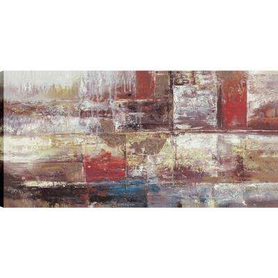 Abstract Woods, Abstract Art, Unframed Canvas Print Wall Art 24X48 Ready to hang by ArtMaison.ca