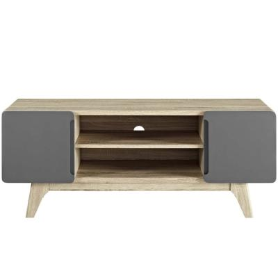 Tread 47 in. Natural Gray TV Stand