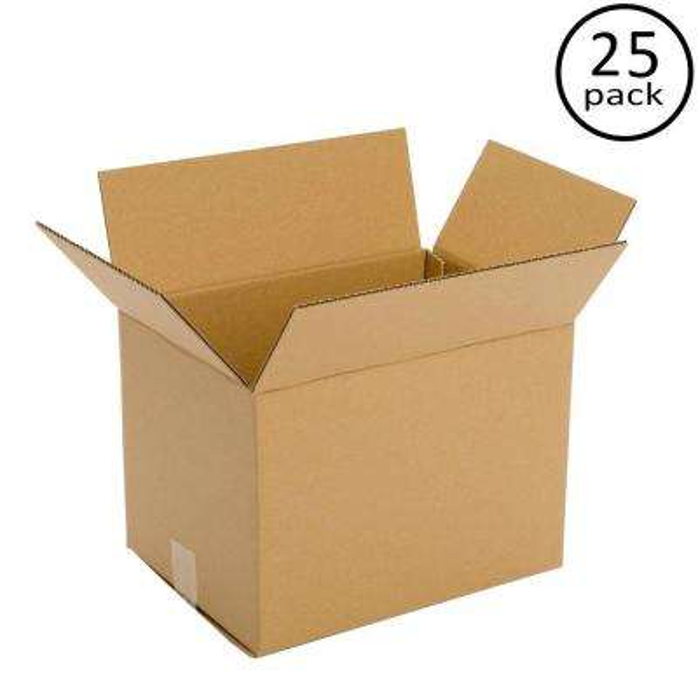 12 in. x 10 in. x 10 in. 25-Box Bundle