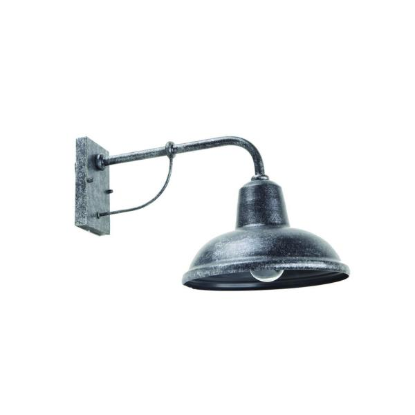 Tanner 1-Light Stone Outdoor Wall Mount Barn Light Sconce