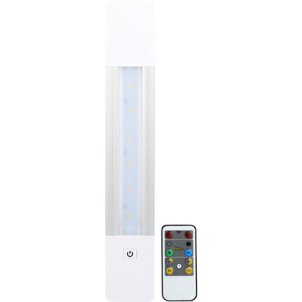 Westek 13 375 In Led White Battery Operated Sleek Under