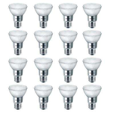 50-Watt Equivalent Bright White PAR20 Dimmable LED Warm Glow Flood Light Bulb (16-Pack)