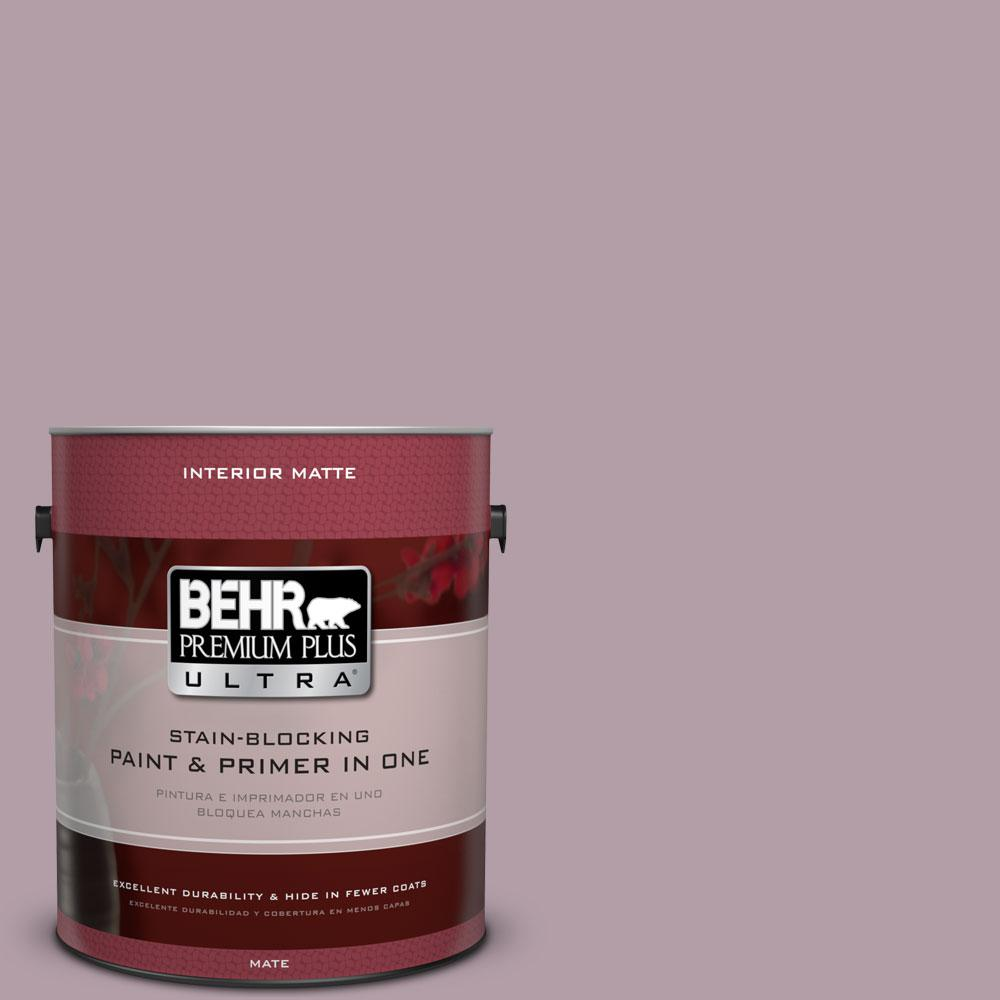 1 gal. #PMD-34 Wild Lilac Flat/Matte Interior Paint
