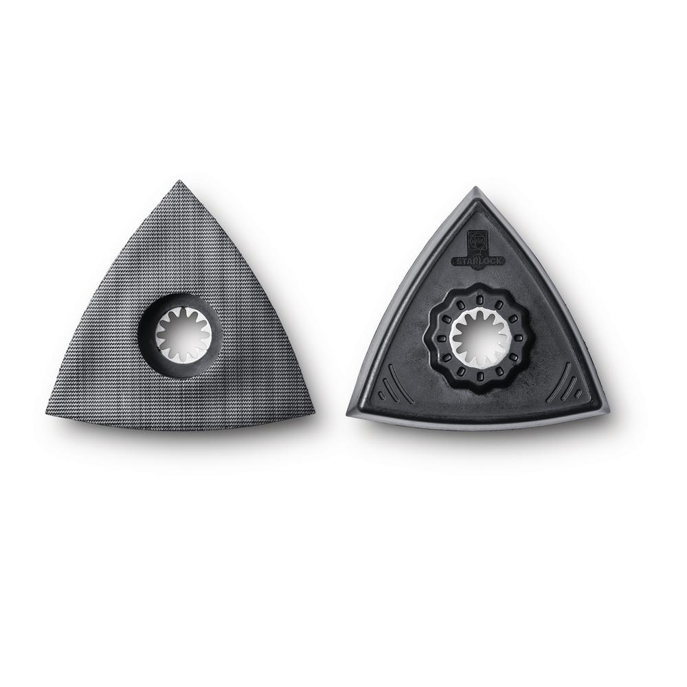 Fein Triangle Backing Pad for Sanding Starlock (2-Pack)