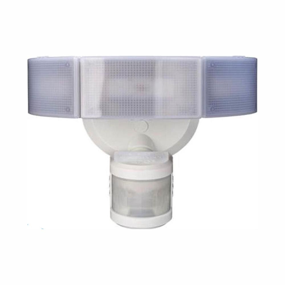 Defiant 270 Degree 3 Head White Led Motion Outdoor Security Light