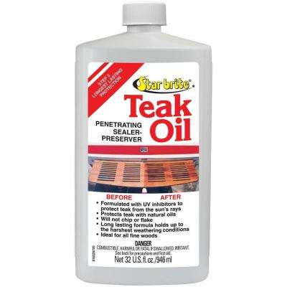 32 oz. Teak Oil