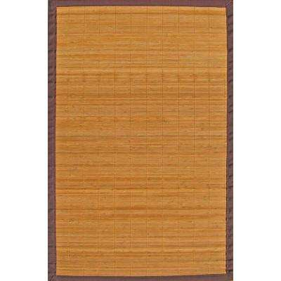 Villager Natural Light Brown 4 ft. x 6 ft. Area Rug