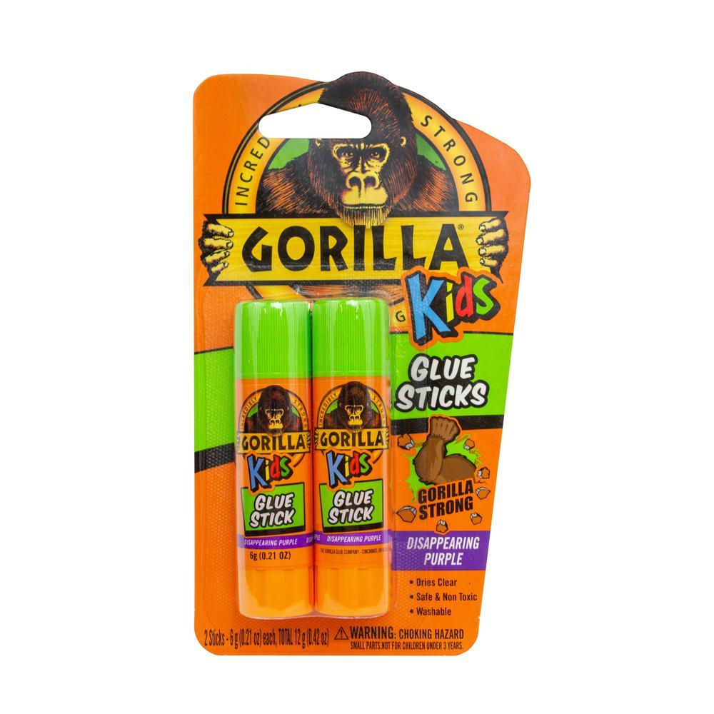 2-6g Kids School Glue Sticks (6-Pack)
