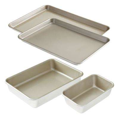 4-Piece Nonstick Bakeware Set