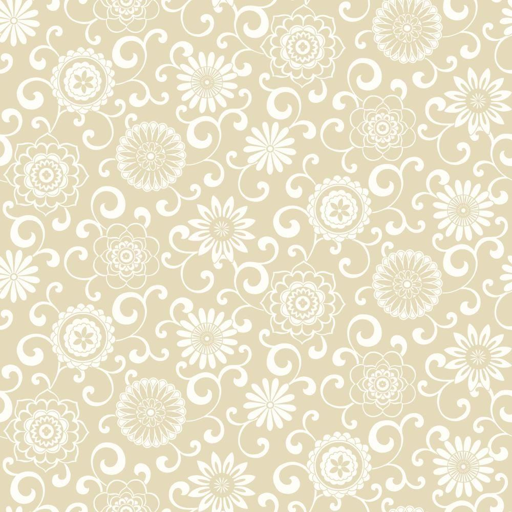 York Wallcoverings Waverly Pom Play Wallpaper