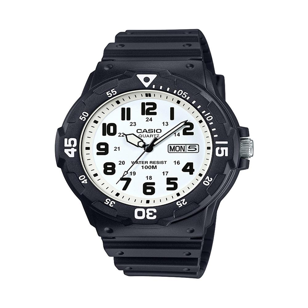 Men's Classic MRW200H-7BV Quartz Resin Automatic Watch