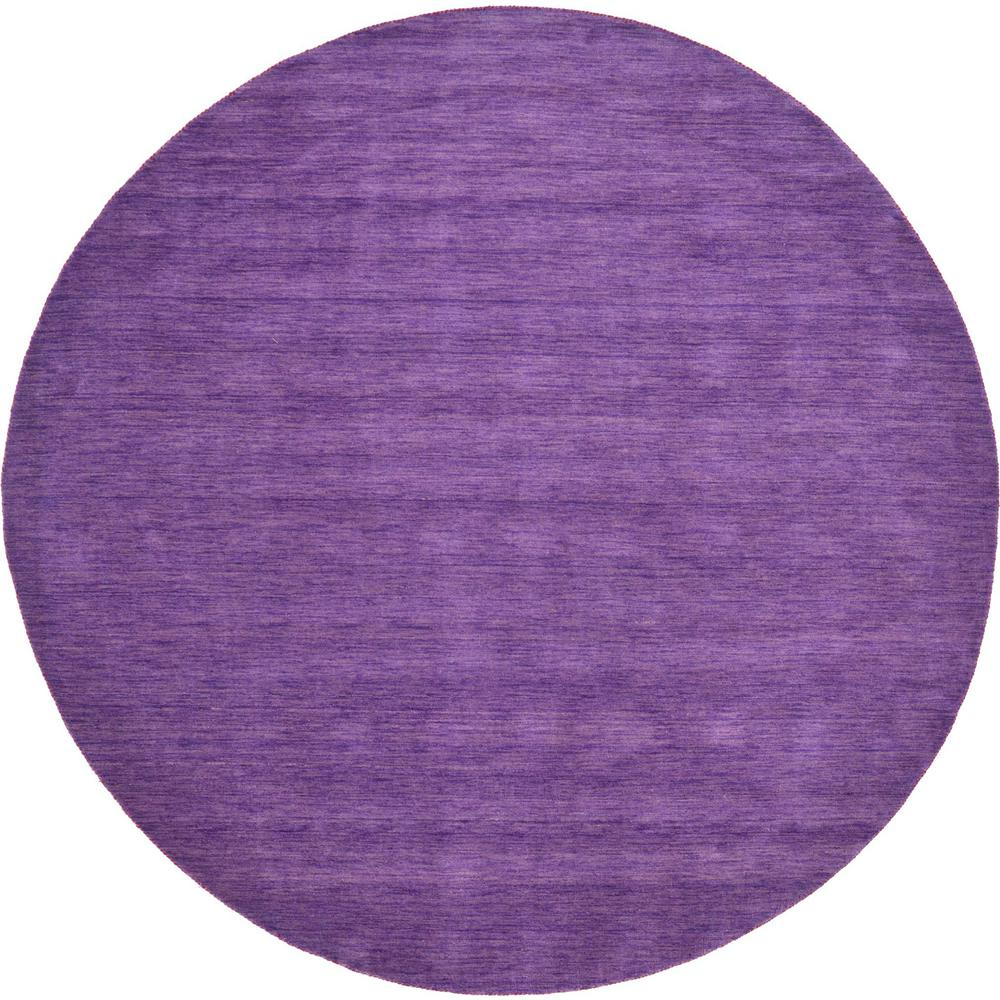 Xl Purple Rug: Unique Loom Solid Gabbeh Purple 9 Ft. 10 In. X 9 Ft. 10 In