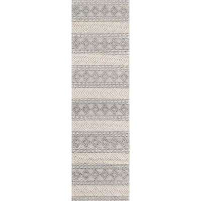 Andes Ivory 2 ft. 3 in. X 8 ft. Indoor Runner Rug