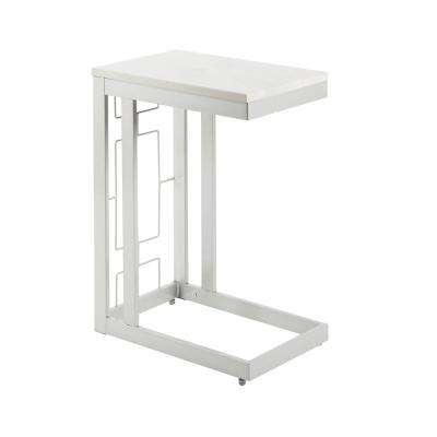 Double Square C Table with Square  Accent