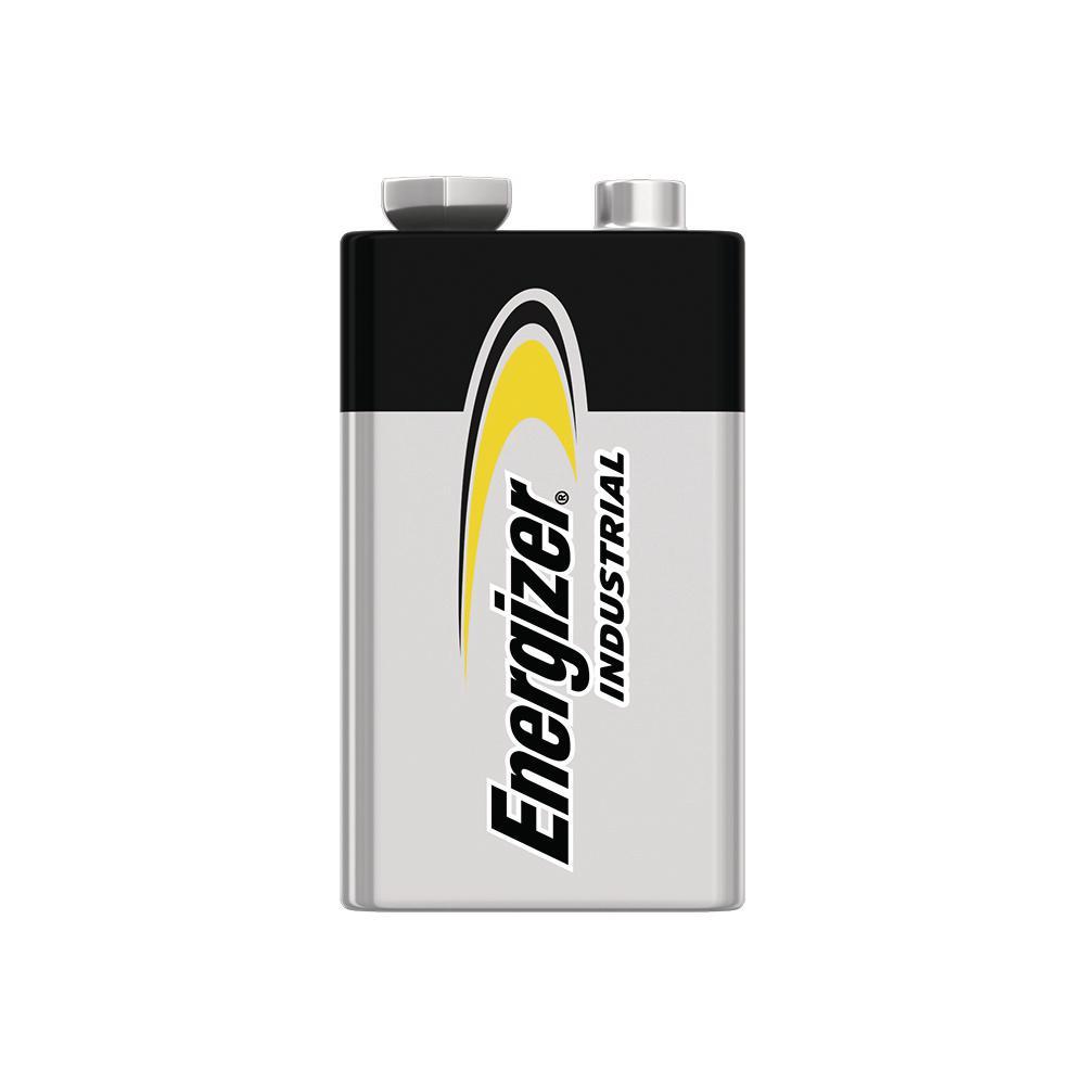 9-Volt Energizer Industrial Alkaline Battery (12-Pack)