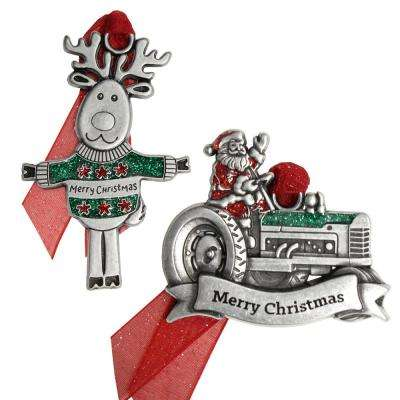 Merry Christmas Ornament Set