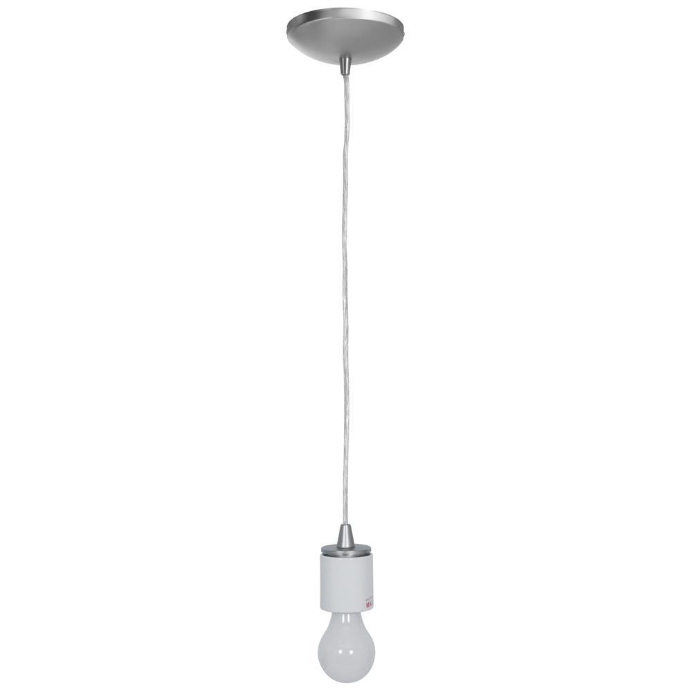 Light Brushed Steel Pendant 23089fc Bs
