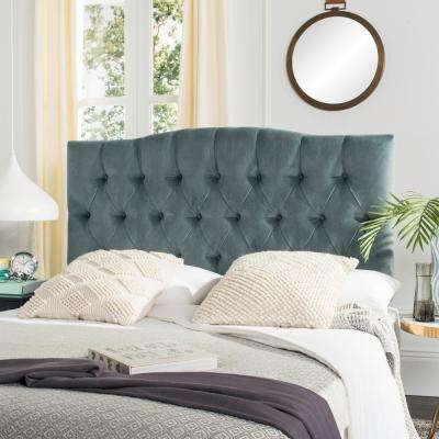 Axel Wedgwood Blue Queen Headboard