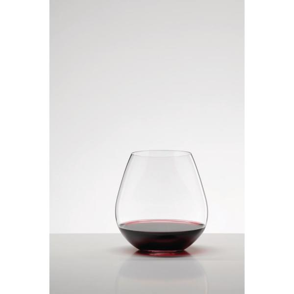 Riedel-O Series 23.88 oz. Stemless Crystal Pinot and Nebbiolo Wine Glass (2-Pack)