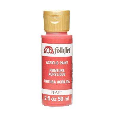 2 oz. Calico Red Acrylic Craft Paint