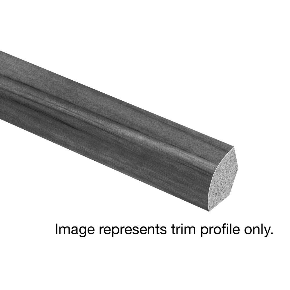 Zamma McRae Hickory 5/8 in. Thick x 3/4 in. Wide x 94 in. Length Laminate Quarter Round Molding, Medium