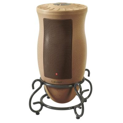 Designer Series 1500-Watt Electric Ceramic Oscillating Space Heater with Remote Control